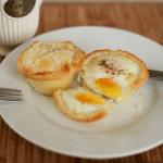 Kuchnia: Jajka pieczone w cieście francuskim