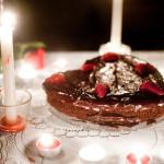 Kuchnia: Walentynkowy tort czekoladowo-malinowy