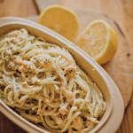 Kuchnia: Spaghetti z łososiem