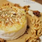 Kuchnia: Camembert na słodko z orzechami