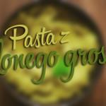 Kuchnia: Pasta z zielonego groszku z miętą
