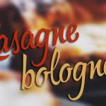 Kuchnia: Lasagne bolognese