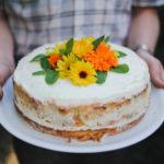 Kuchnia: Tort śmietankowy z malinami